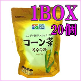 【・送料無料】チョンジョンウォン コーン茶 10g ティーバッグ x 15袋 x 20個(1BOX)◆韓国お茶 韓国飲み物トウモロコシ カロリーゼロ 0kcal【コーン茶 ティーバッグ】