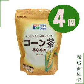 チョンジョンウォン 大象 韓美茶 コーン茶 4個セット/清浄園 有機 とうもろこし茶 ティーパック(10gX15包)  【コーン茶】【韓国伝統茶】