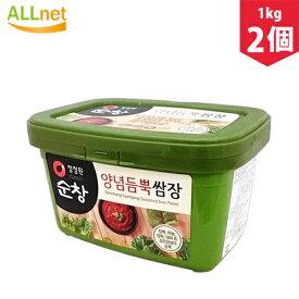 淳昌 サンチュ味噌 サムジャン 1kg×2個 焼肉 韓国調味料 韓国料理 韓国食材 韓国食品