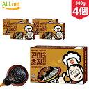 【送料無料】ジンミ チュンジャン 300g×4個 韓国食品 韓国料理/韓国食材/調味料/韓国ソース/中華料理/ジャージャー…