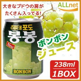 【送料無料】★ぶどうボンボンx12缶 青ぶどうジュース 果実ジュース 韓国ドリンク 韓国飲み物 韓国飲料 韓国食品 マラソン
