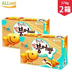 【まとめてお得】オリオン チャムブンオパン(タイ焼き)174g×2箱セット 6個入り 韓国食品 韓国お菓子 お菓子 タイ焼き チャムプンオパン