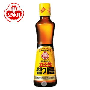 「オットギ」香ばしい ごま油 320ml ◆ゴマ油(オトギ)◆