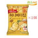 ハニーバターチップ(60g)×2個セット ハニー バター ポテトチップ 韓国の人気スナック Honey Butter Chip 韓国…