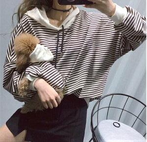 ボーダーパーカー 飼い主・オーナー様用 かわいい Dog ペットウェア 犬服 犬の服 服 トイプードル ペアルック