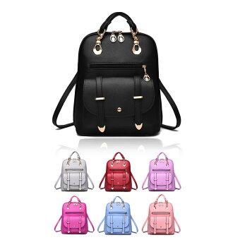 【宅配便送料無料】ハンド・ショルダー・リュックの3WAYバッグです♪大小多彩なポケットで機能性◎パステルカラーも♪
