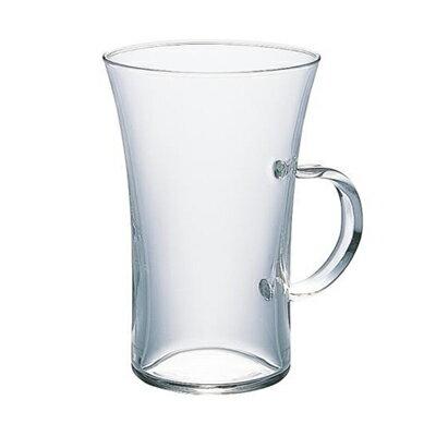 HARIO ハリオ 耐熱ガラス マグカップ ホットグラス すき Φ77×H117mm(280ml) 【食器洗浄機対応】【電子レンジ対応】【熱湯対応】 HGT-2T【ラッキシール対応】