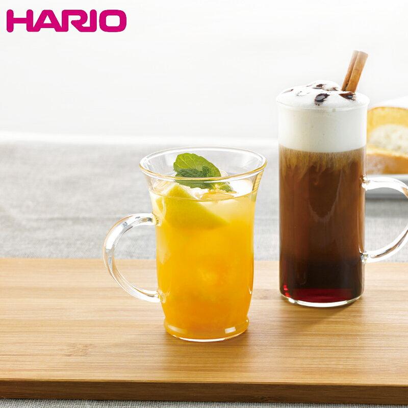 HARIO ハリオ 耐熱ガラス ホットグラス すき Φ76×H107mm(240ml 8oz) 【食器洗浄機対応】【電子レンジ対応】【熱湯対応】 HGT-1T【ラッキシール対応】