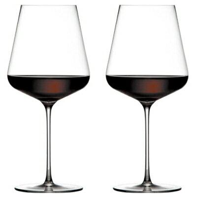 Zalto ザルト 赤ワイングラス ペアセット BORDEAUX ボルドー 680ml×2個 【食器洗浄機対応】【ラッキシール対応】