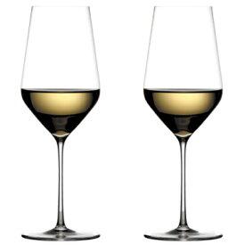 【正規品】Zalto ザルト 白ワイングラス ペアセット WHITE WINE ホワイトワイン Φ81×H230mm(400ml)×2 【食器洗浄機対応】【ラッキシール対応】