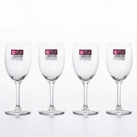 赤ワイン グラス フラネ 250 4個セット (1個あたり178円) アデリア Φ64×H177mm(250ml 8oz) S-5631 【食器洗浄機対応】【ラッキシール対応】