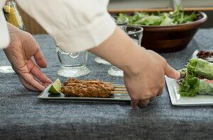 【日本製】正方形角皿大皿グレーネイビーオフホワイトクリームフレームスクエアプレートLサイズW210×D210×H10mm