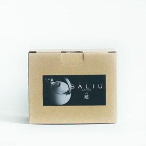 miyama×LOLO木製ハンドル急須(茶こし付)SALIUサリュウ結土瓶マット仕上げ白ホワイト/灰グレー/黒ブラックW124×D164×H98(330ml)
