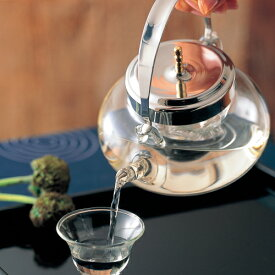 HARIO ハリオ 耐熱ガラス 酒器 2合 地炉利 丸 Mサイズ 360ml IDX-2MSV 【食器洗浄機対応】【熱湯対応】【ラッキシール対応】