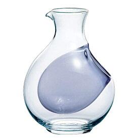 冷酒 2号 ガラス 徳利 (氷ポケット付) 東洋佐々木 Φ46×H137mm (360ml 2合) 61048DV【ラッキシール対応】