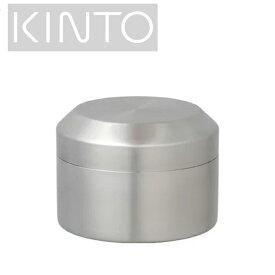 KINTO キントー ステンレス 茶筒 LT キャニスター Sサイズ 鏡面(ミラー)仕上げ Φ90×H65mm(250ml) 21237【ラッキシール対応】