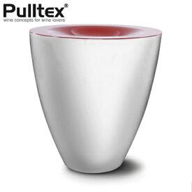 Pulltex プルテックス スピッティングボウル スピトゥーン ホワイト/ブラック Φ195×H210mm TEX517WH【ラッキシール対応】