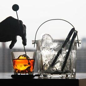 水割り セット 当店オリジナルセット トリニティ 8オンス ロックグラス + トング付アイスペール + ステンレスコースター + マドラー web リモート オンライン 飲み会 おひとり様用【食器洗浄機対応】