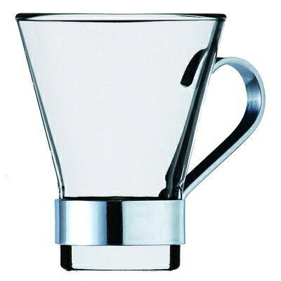Bormioli Rocco ボルミオリロッコ 耐熱ガラス マグカップ イプシロン コーヒー Φ67×81mm(110ml) 【食器洗浄機対応】【全面物理強化ガラス】【熱湯対応】 BO-1999【ラッキシール対応】
