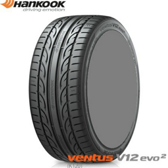 ☆送料無料☆ 先進技術により究極の走行を目指す ハンコック(HanKOOK) ventus V12 evo2(K120) 275/30R20 97Y サマータイヤ 2本セット275/30ZR20