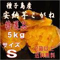 【安納芋】種子島産甘蜜芋安納芋こがね(もみじ)Sサイズ5kg入り
