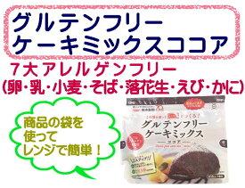 グルテンフリー ケーキミックス ココア 80g 熊本製粉 / 製菓 ケーキ スイーツ mix粉 ミックス粉 グルテンフリーケーキ MIX