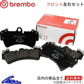 ブレンボ ブラックパッド フロント左右セット ブレーキパッド ミニ クロスオーバー(R60) XDJCW P06 051 brembo ブレーキパット【店頭受取対応商品】