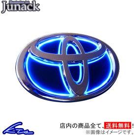 ジュナック LEDトランスエンブレム リア ブルー イスト NCP11/ZSP110 LTE-T11 Junack【店頭受取対応商品】