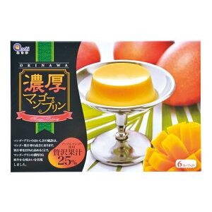 沖縄 お土産 アップルマンゴー果汁たっぷり 濃厚【マンゴープリン 70g×6カップ】