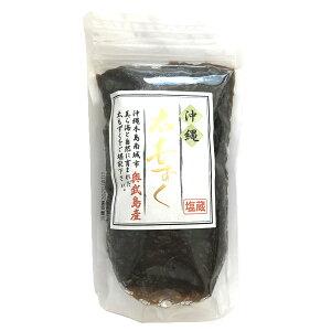沖縄 お土産 もずく 美ら海 塩蔵 塩もずく【奥武島産 太もずく 200g】