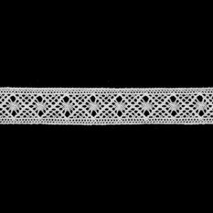 トーションレース オフホワイト 切り売り 約15mm幅ベビー、子供服、婦人衣料、手芸ブライダル、インテリア、レースドールに最適、御朱印帳にも