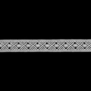 トーションレース オフホワイト 切り売り 約11mm幅ベビー、子供服、婦人衣料、手芸ブライダル、インテリア、レースドールに最適、御朱印帳にも