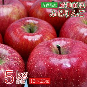 【2020/予約受付中】送料無料 青森県 青森 産地直送 ふじ ふじりんご 5kg 前後 13玉 〜 23玉 りんご 蜜いり りんご 蜜入りりんご 国産 国産りんご 青森りんご リンゴ 秀品 ご家庭用 ご自宅用 加