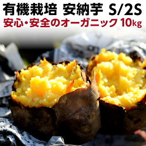 早割 ギフト 安納芋 有機 プチ安納芋 安納いも あんのう芋 蜜芋 離乳食 五島列島 オーガニック S/2Sサイズ 10kg