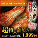 うなぎ 蒲焼き 国産 鹿児島産ブランド鰻 『うなぎの里』極上超特大蒲焼き1本(タレ山椒セット×2・お吸い物×2 付き)…