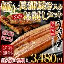 うなぎ 蒲焼き 国産 鹿児島産 鰻 ウナギの里 長蒲焼き106g〜116g1本+きざみ2食(120g) お試しセット