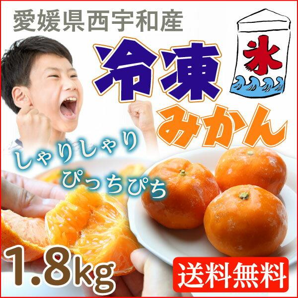 冷凍みかん愛媛県産 600gx3袋 八協ブランドみかん1.8kg 送料無料 甘味濃縮なつかしの冷凍みかん!