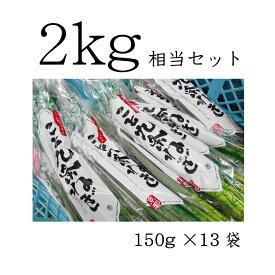こと京都 【 九条ねぎ 原体 2kg(13袋分)相当セット 】 (※3/21出荷〜クール便)