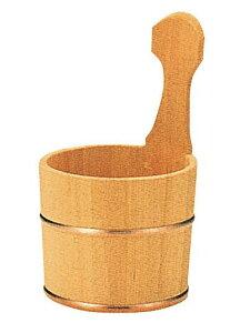 さわら片手桶銅タガ2016-027 14.5×H24.5cm※受注から10日前後納品に必要です