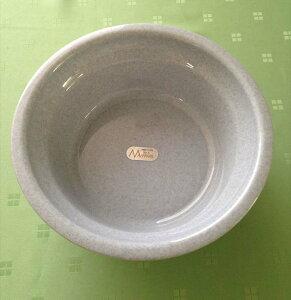 【送料無料】【アウトレット激安】風呂湯桶Φ26.8×H9.8ママス グレー10個セット
