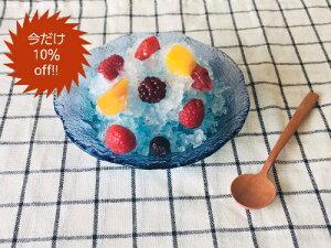 珊瑚の海 ハンドメイド 佐々木ガラスボウル サラダボウル 鉢 小鉢 ガラス ガラス食器 ヨーグルト シリアル デザート カフェ風 おしゃれ 夏 涼しげ 氷菓 プリン あんみつ みつまめ