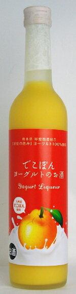 リキュール【でこぽんヨーグルトのお酒】 8度 500ml 常楽酒造