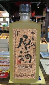 球磨焼酎【秋の露樽原酒】箱入り 41度 720ml 減圧 常楽酒造