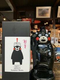球磨焼酎【桜の里(くまモン)陶器製】25度 360ml 箱入 減圧 松下醸造場
