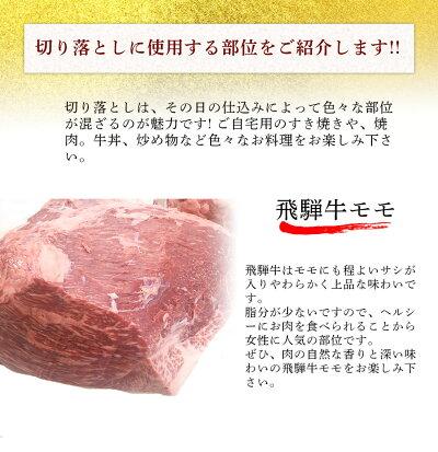 肉のくまざき飛騨牛切り落とし1.2kgメガ盛り