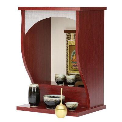 ミニ仏壇「シルク」ブラックorブラウン
