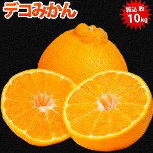 デコポン と同品種 訳あり デコみかん 10kg 箱込 内容量9kg+補償分500g 送料無料  熊本県産 蜜柑 ミカン 柑橘 フルーツ