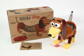 トイストーリー スリンキードッグ  レトロパッケージ Slinky Dog ※本物のスリンキーです