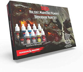 The Army Painter アーミーペインター D&D アンダーダーク ペイントセット10色 限定ミニチュア付(1体) 正規品 日本語解説書付