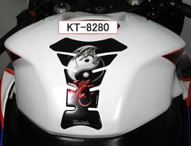 【メール便送料無料・代引不可】KT8280 Keiti タンクパッド HONDA KAWASAKI YAMAHA 汎用